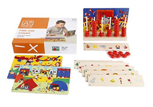 Toys for Life   finden und zählen   Lehrmaterialien Mathematik   Mathematik   Ab 36 Monate   Bis 72 Monate, farbskala