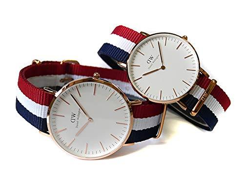 ダニエルウェリントンDANIELWELLINGTON腕時計DW00800001ペアウォッチギフトセット[並行輸入品]
