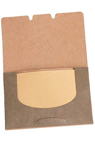 LJSLYJ 100 Feuilles de Papier-Mouchoir pour le Visage Odeur de Thé Vert Maquillage Huile Nettoyante pour le Visage Absorbant le Papier Absorbant Buvardant le Visage Propre