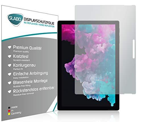 Slabo 2 x Displayschutzfolie für Microsoft Surface Pro 7 | Pro 6 | Pro 4 | Pro (2017) Displayschutz Schutzfolie Folie No Reflexion | Keine Reflektion MATT