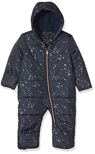 NAME IT Baby-Mädchen NBFMIA Suit Schneeanzug, Blau (Dress Blues Dress Blues), 62/68 (Herstellergröße: 62-68)