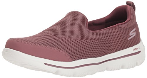 Skechers Women's Go Walk Evolution Ultra-Reach Slip On Trainers, Purple (Mauve Mve), 5 UK, (38 EU)