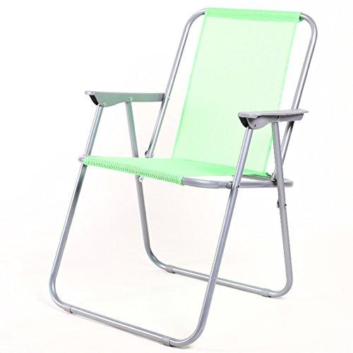 Be&xn Camping klappstuhl außen, Frühling-Stuhl Liegestühle Amerikanischen Lounge Chair Portable Ageln Stuhl Leisure Stuhl Liegestuhl Mond Stuhl-grün W52xH75cm(20x30inch)