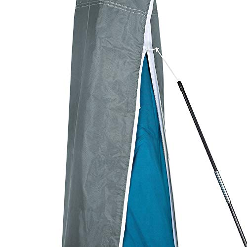 Purovi Schutzhülle für Sonnenschirme, Grau, 35x180 cm - 5