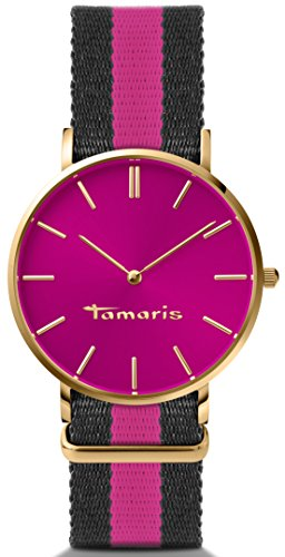 Tamaris Damen-Armbanduhr Analog Quarz B01163150