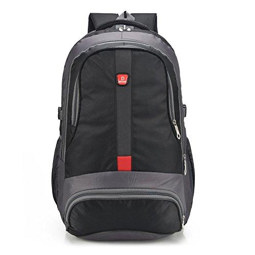 le sac à dos des sports de plein air grand espace loisirs alpinisme randonnée en sac de voyage du pack de mobiles 3Colors H56 x L35 x T18CM , black