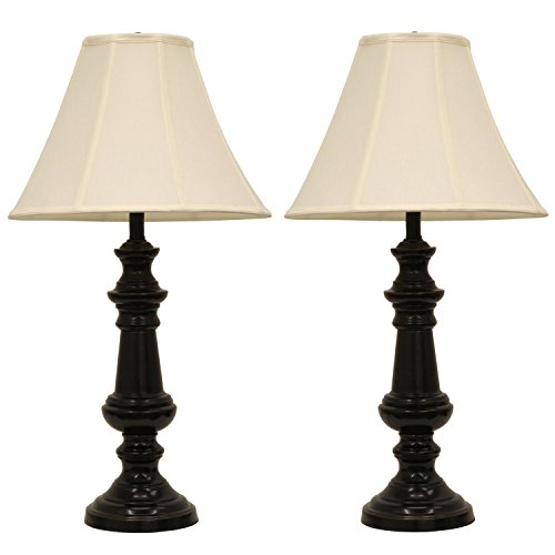 Décor Therapy MP1991 Pair of Touch Control Bronze Table Lamps
