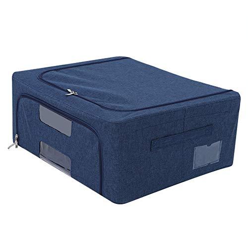 XQAQX Caja de Almacenamiento, Bolsa de Almacenamiento Oxford, Caja Plegable Impermeable Tela Oxford Ropa Plegable Edredones Caja de Almacenamiento para Uso doméstico(3)