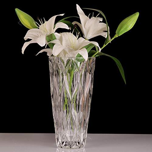PLL transparante kristallen glazen bloemen rangschikking vazen huishouden decoratie waterplanten container