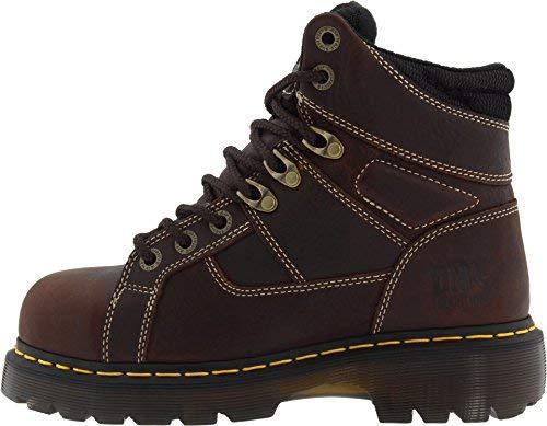 Dr. Martens, Men's Ironbridge Steel Toe Heavy Industry Boots, Teak, 9 M US