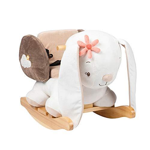 Nattou schommeldier, 10-36 maanden, 60 x 39 x 50 cm, wit Haas Mia Hase Mia