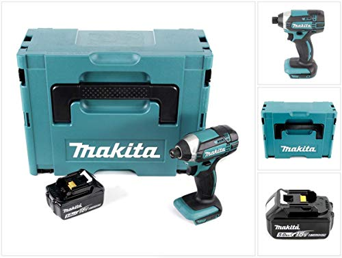Makita DTD 152 T1J Akku Schlagschrauber 18V 165 Nm + 1x Akku 5,0Ah im Makpac 2 - ohne Ladegerät