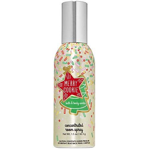 Bath and Body Works MERRY COOKIE Concentrated Room Spray 1.5 Ounce (2019 Limited Edition)