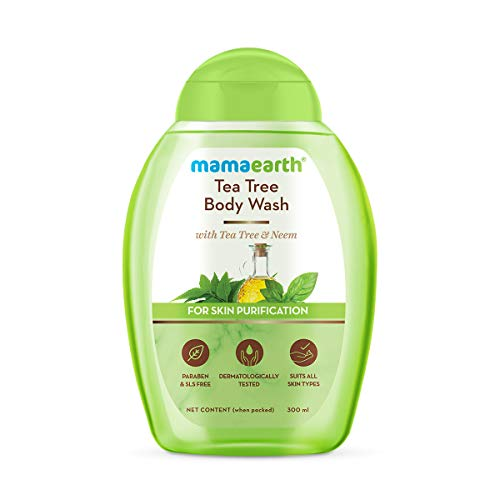 Mamaearth Tea Tree Body Wash With Tea Tree & Neem, Shower Gel For Skin Purification – 300 ml