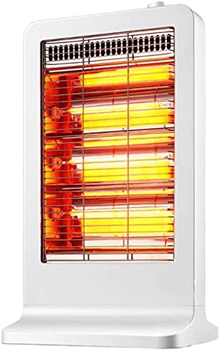 WANQPPS Calentador Personal Calentador eléctrico portátil con termostato Ajustable de calefacción de Fibra de Carbono para el hogar de la Oficina Termoventiladores y calefactores cerámicos(Color:W