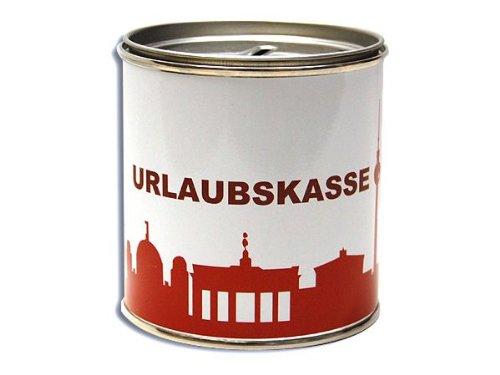 City Souvenir Shop Spardose Urlaubskasse Berlin, rot