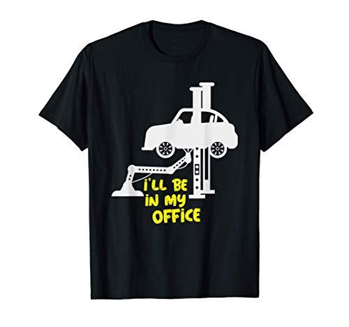 Mechaniker Werkstatt Werkzeuge Wagenheber Diesel Geschenk T-Shirt