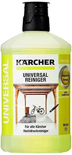 Kärcher - Accessorio per Idropulitrice - Detergente universale - 1 l (Kärcher, K 2 Home K 2 Basic K 2 Compact Home K 2 Premium Home K 3 Home K 4 Compact K 4 Compact Home K 4 Home, Black, White)
