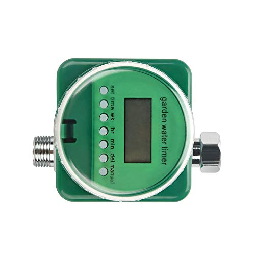 un known Garden Irrigation Controller Rain Sensor LCD Display Automatic Watering Timer Electronic Garden Irrigation Controller Accessory Removable Replacement
