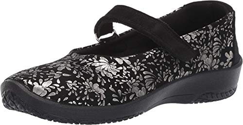 Arcopedico Women's L45 Black Barbara Shoe 7-7.5 M US