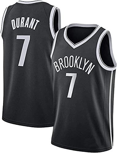Jerseys Camiseta de Ventilador # 7 Kevin Durant Resistente al Desgaste Transpirable Camiseta de Baloncesto NBA Brooklyn Nets(Size:/M,Color:G2)