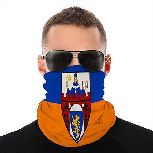 fgdhfgjhdgf Microfiber Neck Cover Shield Bandanas for Dust Outdoors Flag of Siegen in North Rhine Westphalia Germany Unisex Cover Shield