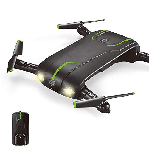 Hoeveelheid88 Quadcopter, opvouwbare vierassige afstandsbedieningsvliegtuig 2,4 GHz frequentieafstandsbediening met één knop terugkeer 3D-Duimeln met lichte vliegtuigen