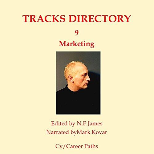 Tracks Directory Volume Nine: Marketing audiobook cover art