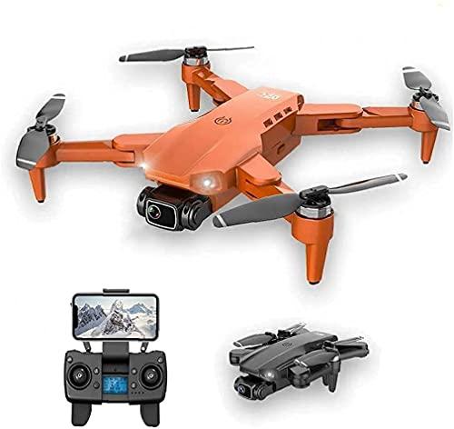 LYHY Mini Drone Pieghevole Quadcopter Pieghevole per Adulti e Bambini 4K HD Camera GPS RC Drone con 1 Batteria Nera