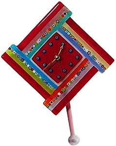 Timegoesby - Reloj de pared, cristal de Murano, OMG