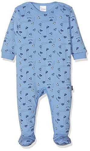 Schiesser baby-jongens pyjama (tweedelig) Polizei Baby Anzug Mit Fuß