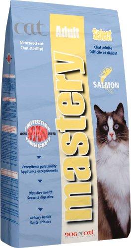MASTERY Cat Adult Select Saumon Sac 3 kg/Chat difficile et délicat
