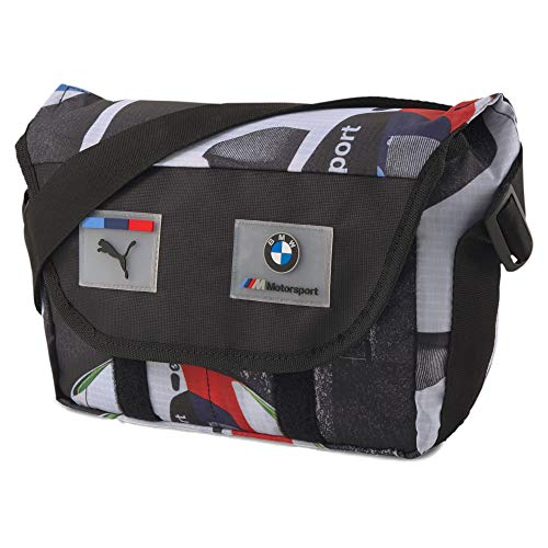PUMA x BMW M Motorsport Street Mini Messenger Sling Shoulder Pack Bag