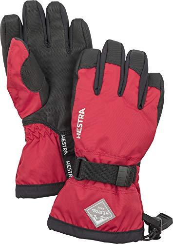 Small-XL Alpine Ski NEW HESTRA IMPACT RACING SR GLOVES White//Red Size 7-8-9-10