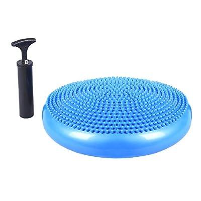 TRENTON Gifts Balance Cushion Board, Balance Board with Pump