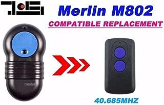 Calvas 2pcs FOR Merlin M802 compatible remote