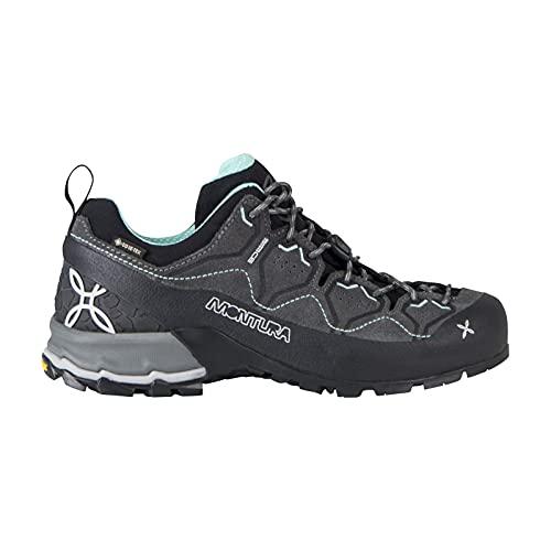 Montura Zapato cómodo y ligero para mujer de Approach de Gore-Tex Yaru GTX, Negro , 40 EU