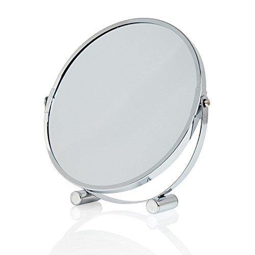 Lumaland formschöner Standspiegel Make Up Kosmetikspiegel Schminkspiegel