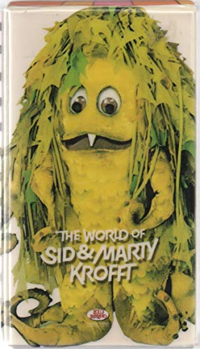 The World of Sid & Marty Krofft (3 VHS tapes): H. R. Pufnstuf, Bugaloos, Lidsville, Sigmund & the Sea Monsters, Land of the Lost, Far Out Space Nuts, Electra-Woman/Dyna-Girl, Pryor's Place, Wonderbug