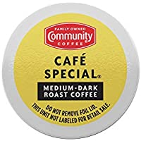 36-Count Community Coffee Cafe Special Medium-Dark Roast Coffee Pods