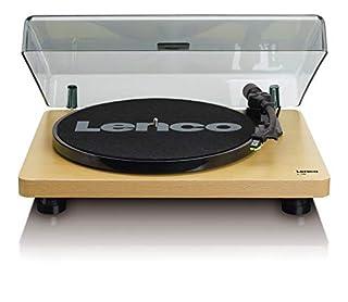 Preamplificatpre stereo integrato Testina mm e braccio meccanico Trazione a cinghia e stop automatico Coperchio giradischi removibile