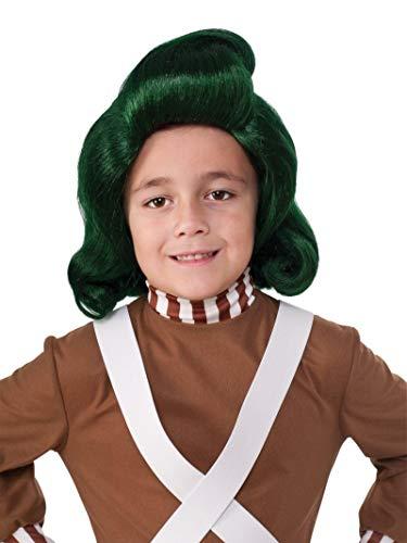 Rubie's – Offizielle Perücke eines Oompa Loompa in Charly und die Schokoladenfabrik, Kinder, Faschingskostüm, Accessoire