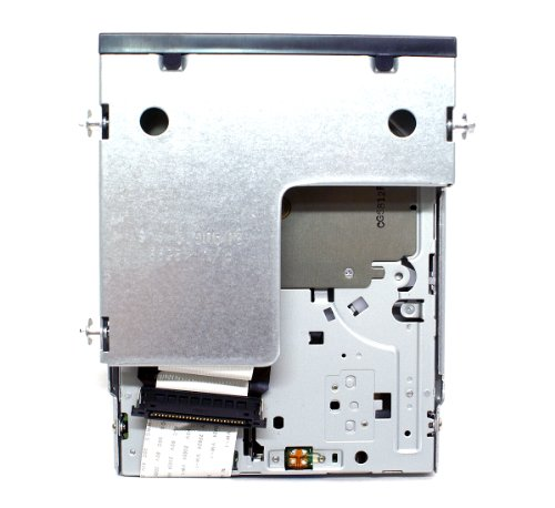 Genuine Dell UT835 Slim Black IDE Internal 1.44M Floppy Drive + Ribbon Cable For Use With Optiplex 745, 755, 760, 780, GX520, GX620 Small Form Factor SFF Systems Compatible Dell Part Numbers: 134-508053-382-0, FD-05HG, MPF820, FD3238T, UT835, X9092