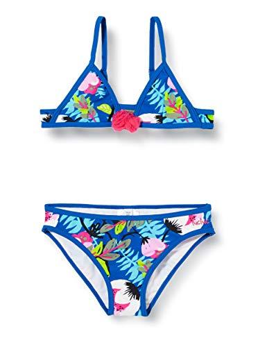 Tuc Tuc Bikini Flores NIÑA Azul Samba Dreams