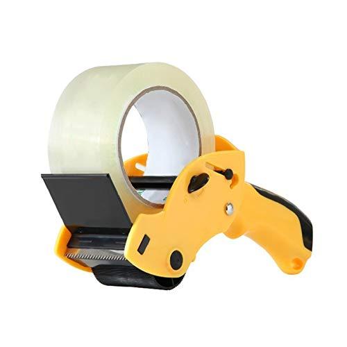 Dispensador de cinta de embalaje Máquina de cinta transparente de cortador de papel de papel transparente 1PC Máquina de papel de papel azul de escritorio de escritorio Para cortadores de cinta portát