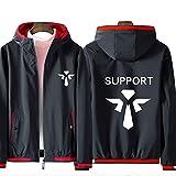 73HA73 Sudadera con Capucha para League of Legends LOL Team Battle Uniform Teen Fashion Deportiva Cómoda de Manga Larga Unisex Hoodies (No Shirt),Support,5XL(195-200cm)