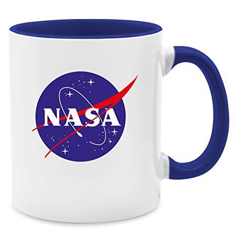 Statement Tasse - Nasa Meatball Logo - Unisize - Dunkelblau - Q9061 - Kaffee-Tasse inkl....