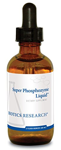 Biotics Research Super Phosphozyme Liquid™– Phosphorous in Liquid, Electrolytes. Healthy Bones and Teeth, Protein Production, Energy Support. 40mg/Drop. 2 Fl Oz