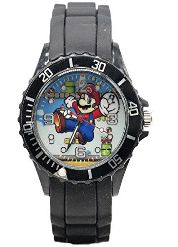 New Horizons Production Super Mario Character Silicone Band Wrist Watch