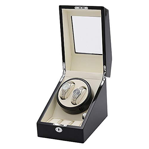 DYecHenG Automatic Watch Winder Modi di Rotazione Watch Winder 5 con 2 posti tortuose e 3 Serbatoi (Color : A1, Size : One Size)